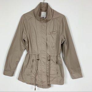 Full Tilt Jacket with String Waist Detail